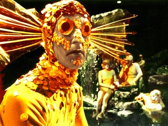 One of the less successful monsters of the Sixties, the Fish People from The Underwater Menace