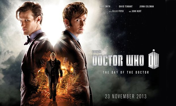 BBC promotional poster for the Doctor Who 50th Anniversary Special, The Day of the Doctor