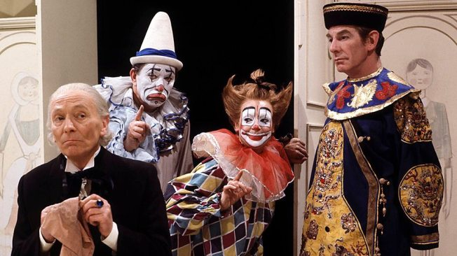 William Hartnell as the Doctor in The Celestial Toymaker