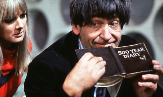 Patrick Troughton as the Doctor in The Power of the Daleks