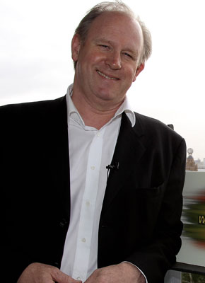 A recent photo of Peter Davison