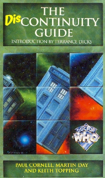 Paul Cornell, Martin Day & Keith Toppiing, The Discontinuity Guide (Doctor Who Books, London, 1995)