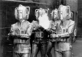 This series' monsters, The Cybermen