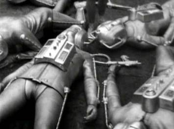 Defeated Cybermen