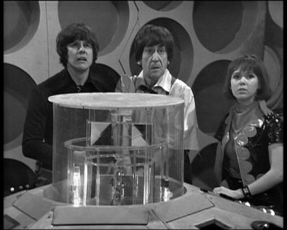 Jamie, the Doctor and Zoe arrive on Earth following their adventures with The Krotons