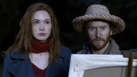 Tony Curran appeared as Vincent Van Gogh in the 2010 episode Vincent and the Doctor.  He is pictured here with Amy.