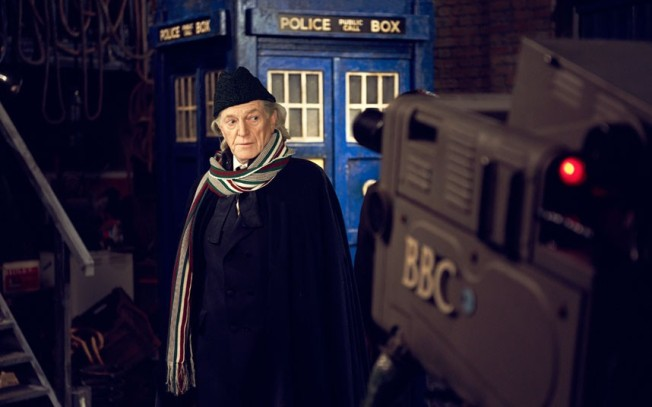 The first publicity shot for An Adventure in Time and  Space was released several months ago.  Pictured here is David Bradley as the First Doctor, William Hartnell