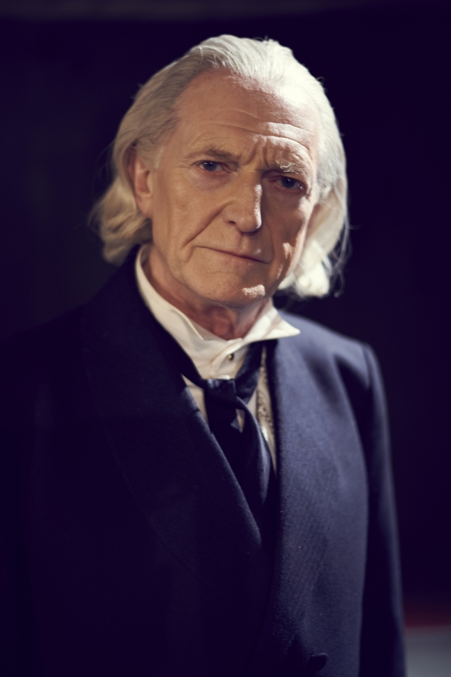 Another publicity photograph of David Bradley as the First Doctor, William Hartnell