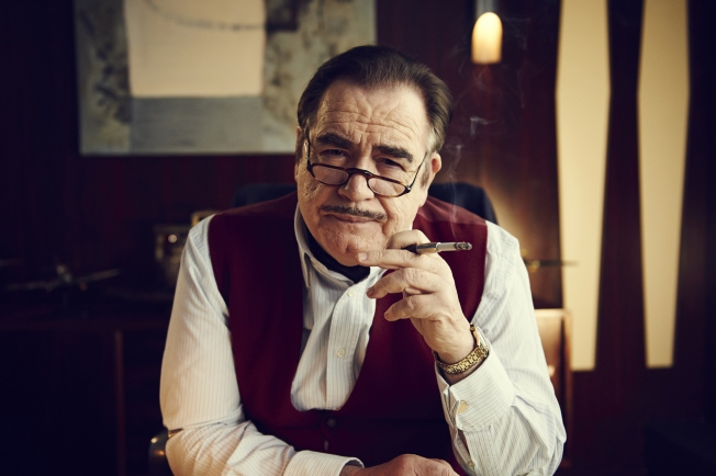 Brian Cox as Sydney Newman, the Canadian born head of BBC Drama who co-created Doctor Whoi