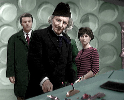 The first TARDIS Crew in An Unearthly Child