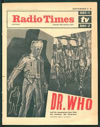 The Cybermen soon found themselves on the Cover of Radio Times
