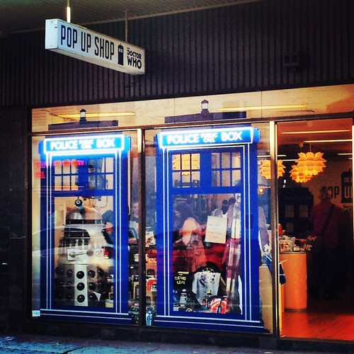 A Doctor Who Pop-Up Shop