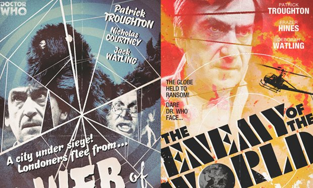 Doctor Who retro posters courtesy of Radio Times designer Stuart Manning - http://www.radiotimes.com/news/2013-10-11/doctor-who-missing-episodes-retro-poster-designs