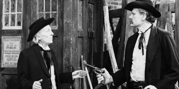 The Doctor wore a western style black hat in The Gunfighters