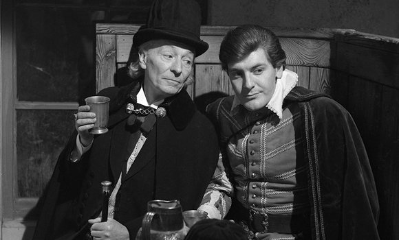 In The Massacre the Doctor wore a tall hat, not altogether dissimilar to that which the Second Doctor would become known for