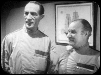 Mr Quill and Mr Oak were the Laurel and Hardy of Villains in Fury From the Deep