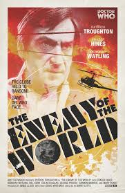 A Radio Times produced retro poster for The Enemy of the World