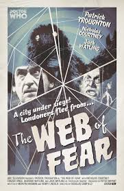 Radio Times produced retro poster for The Web of Fear
