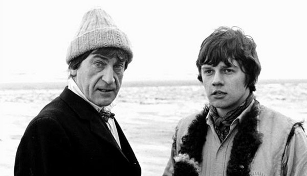 The Doctor kept his head warm down by the beach in Fury From the Deep