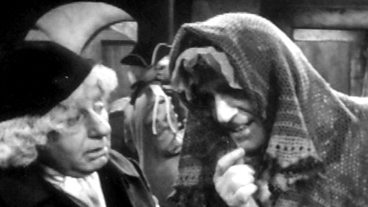 Disguising himself as a women, the Doctor wears a head scarf in The Highlanders