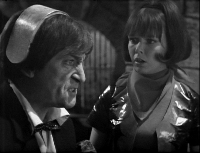 The Doctor takes the test in The Krotons