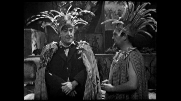 The Doctor wears an unusual form of headwear in The Underwater Menace