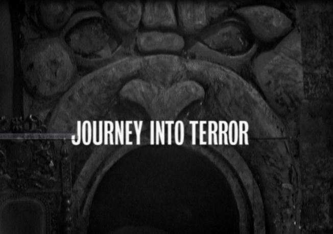Title card for has become known as Episode 4 of The Chase, Journey into Terror