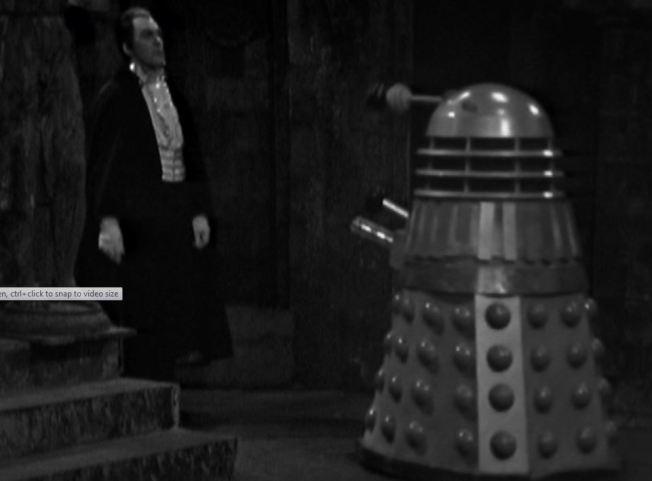 Count Dracula and a Dalek