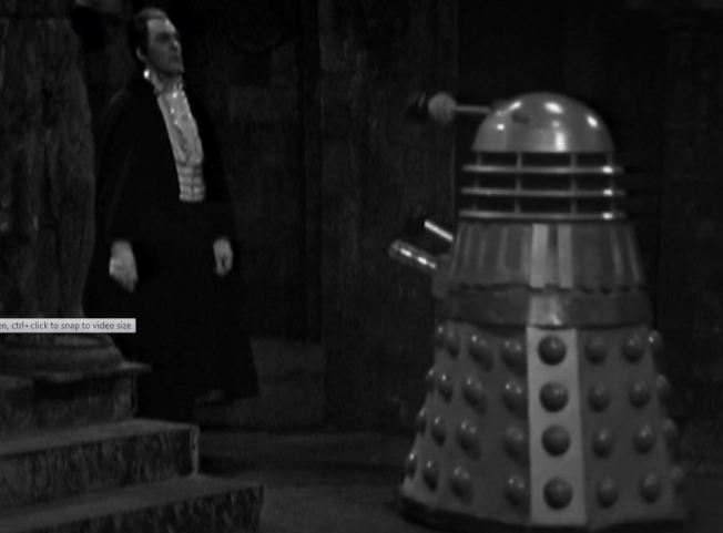 Count Dracula and a Dalek