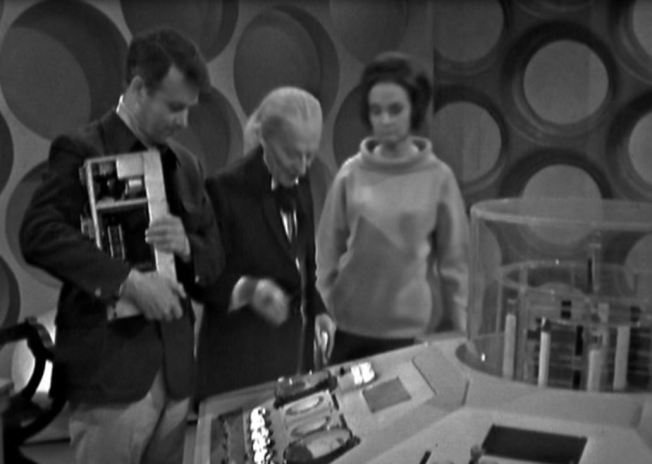 The Doctor, Ian and Barbara decide to explore outside