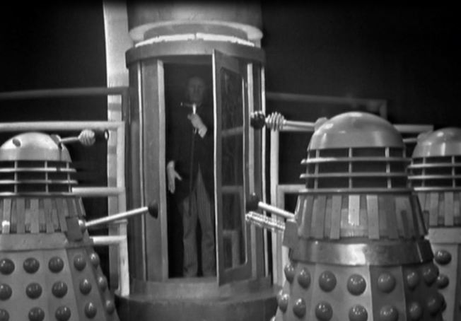 "The Daleks announce ""paramount success"" in the duplication of the Doctor"