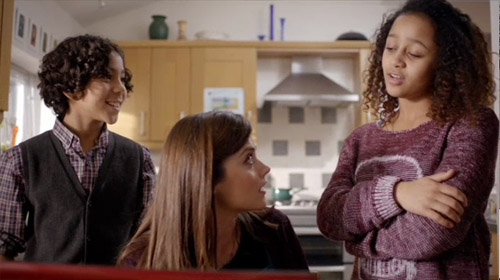 Clara is blackmailed by Angie and Artie in the conclusion of The Crimson Horror