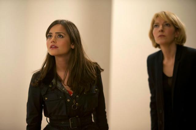 Jenna Coleman and Jemma Redgrave