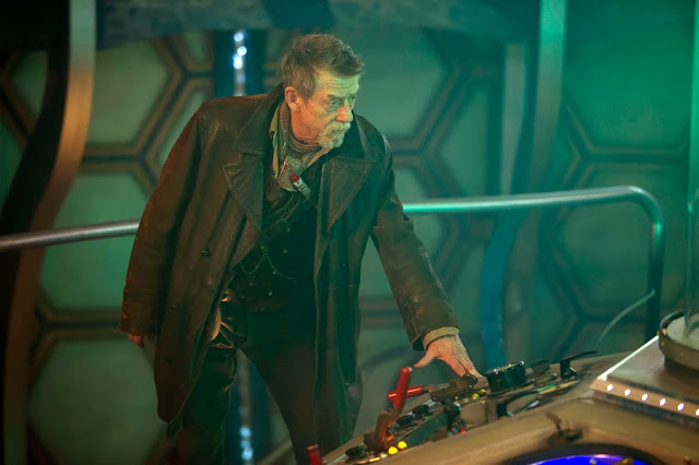 John Hurt as a previously unknown incarnation of the Doctor