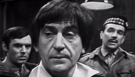The then-Colonel Lethbridge-Stewart is first introduced to Doctor Who in The Web of Fear