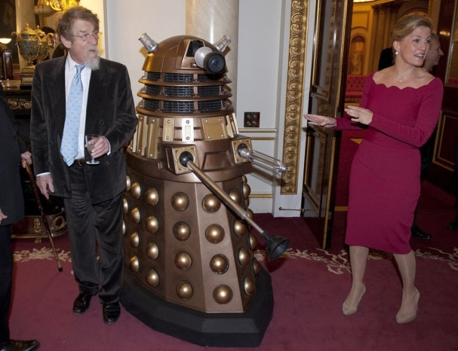 John Hurt, a Dalek and the Countess of Wessex