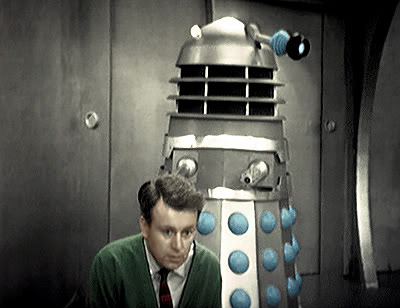 Ian's legs are paralysed in The Daleks
