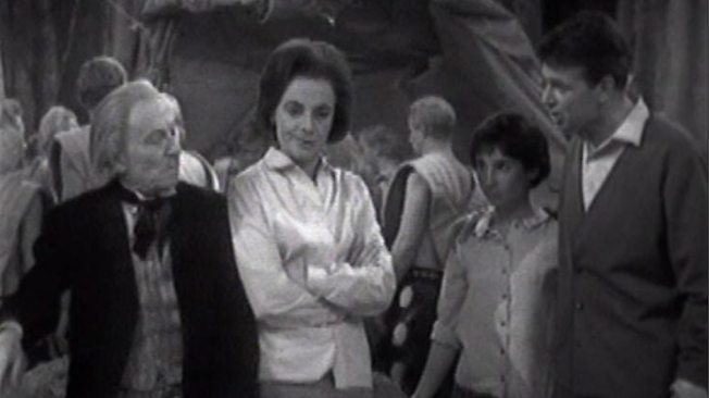 The TARDIS Crew in The Expedition - Episode 5 of The Daleks