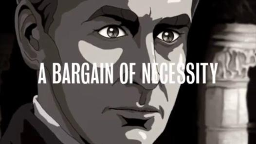 The title card for the animated episode 5 of The Reign of Terror - A Bargain of Necessity