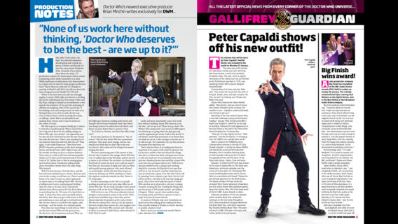 Pages 6 and 7 of the current edition of DWM (470) showing scan when the iPad is held sideways