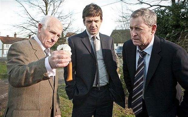 Barry Jackson as Dr George Bullard in Midsomer Murders