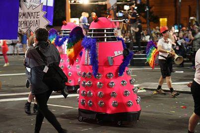 Dalek Mardi Gras 1