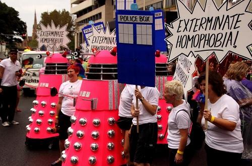 Daleks Mardi Gras 3